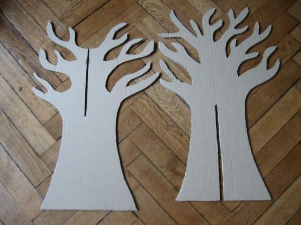 Drzewko wycięte B