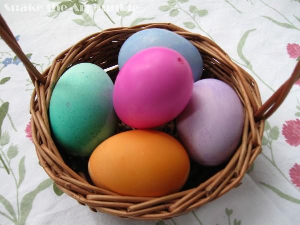 Jajka koszyk