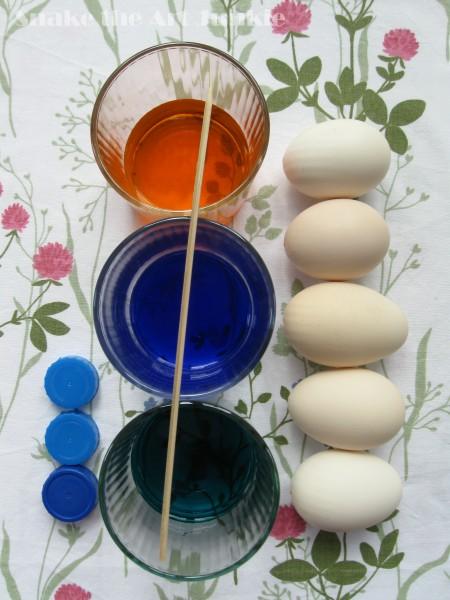 Jajka materiały