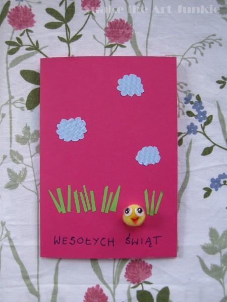 Kartki pink