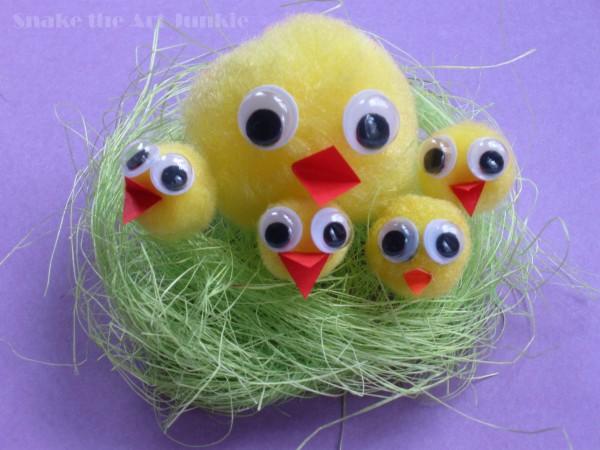 Kurczaczki nest