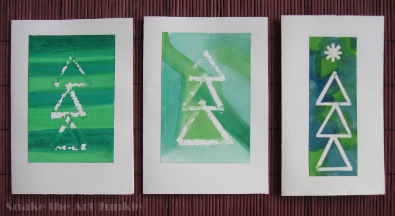 Trzy zielone